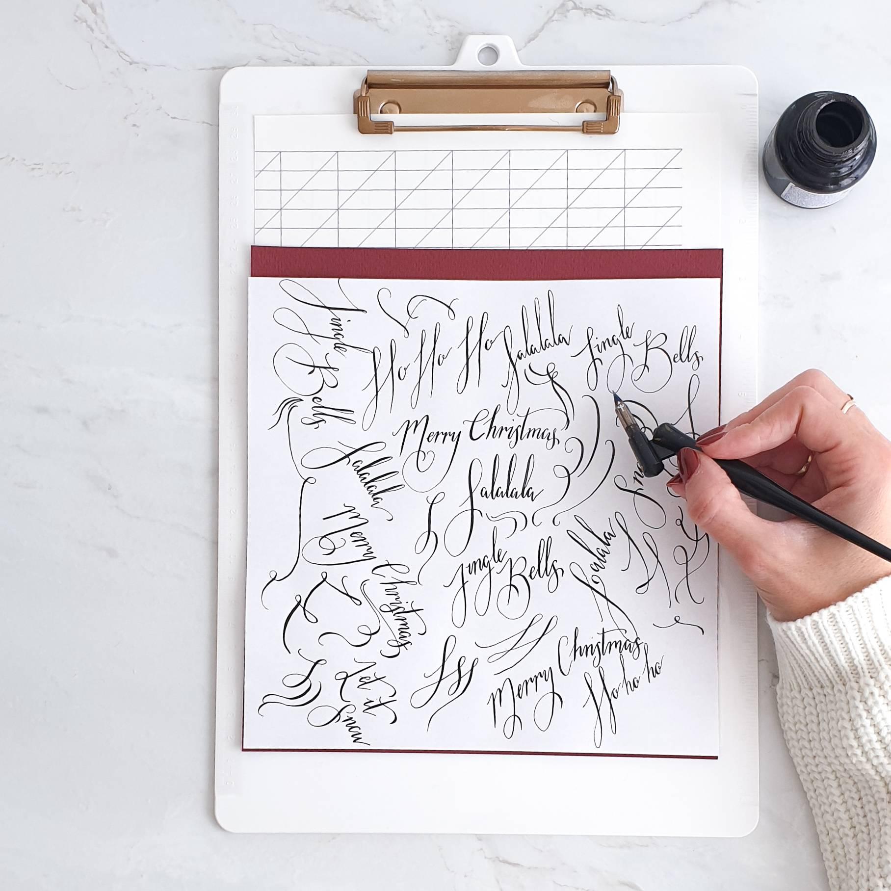 Calligraphy Workshop in Geneva, Switzerland