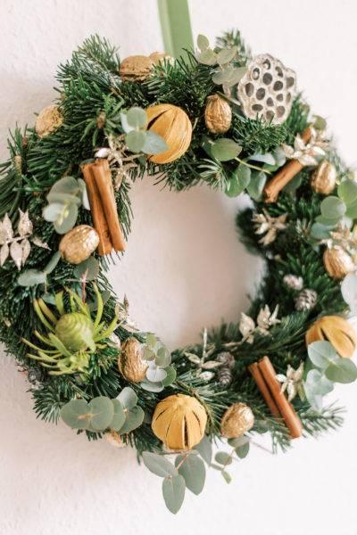 Christmas Wreath Holiday Workshop in Geneva, Switzerland
