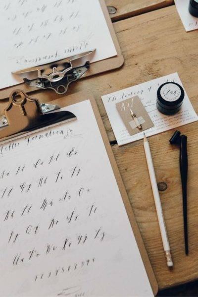 apprendre la calligraphy genève